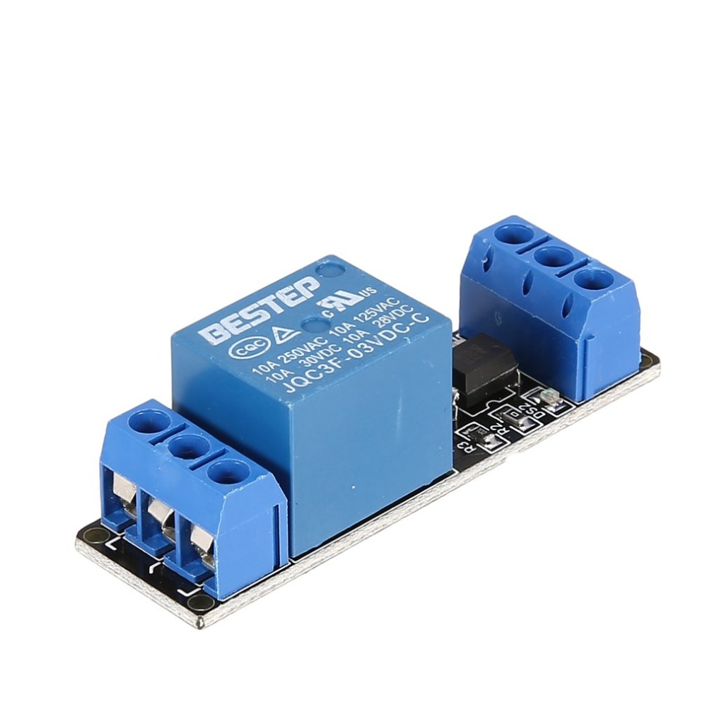 1 channel 3V relay module with optocoupler isolation for SCM control, PLC control home intelligent use