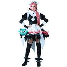 Fantasia feminina emblema de fogo cosplay, dia das bruxas