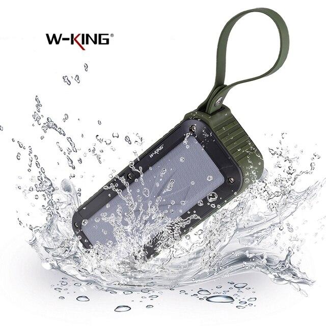 W-король S20 Lound Динамик S IPX6 Водонепроницаемый Bluetooth Динамик Портативный NFC Bluetooth Динамик на открытом воздухе/душ/ велосипедный Спорт fm Радио
