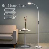 LED Vloerlamp 9 W 5-Level Helderheid Touch Schakelaar Moderne Hedendaagse Licht voor Woonkamer Slaapkamer Kantoor Lezen Piano Lamp