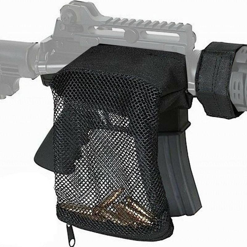 Image 5 - Hunting tactical M4 military army shooting Brass ar15 Bullet Catcher Rifle Mesh Trap Shell Catcher Wrap Around Zipper Bag-in Paintball Accessories from Sports & Entertainment