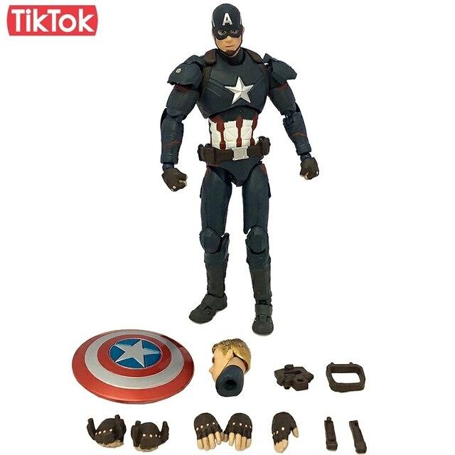 SHF Capitán América guerra Civil Steve Rogers Tony Stark Iron Man ...
