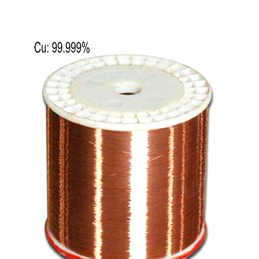 Copper Wire Cu 5N High Purity 99.999% for Research and Development Element Metal Diameter 0.05 0.1 0.2mm Length 1/2 Meter