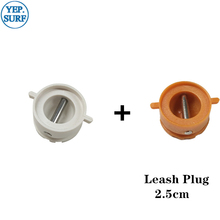 купить Surf Leash Plug Diameter 2.5cm leash Plugs 5pcs Orange +5pcs White по цене 586.18 рублей