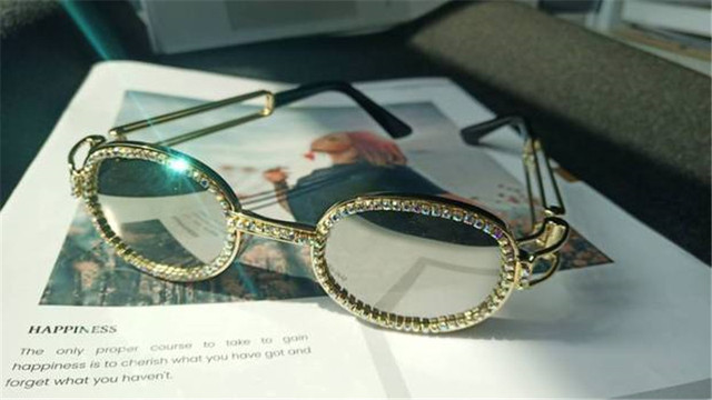Beautiful Diamond Sunglasses 7 Colors 5