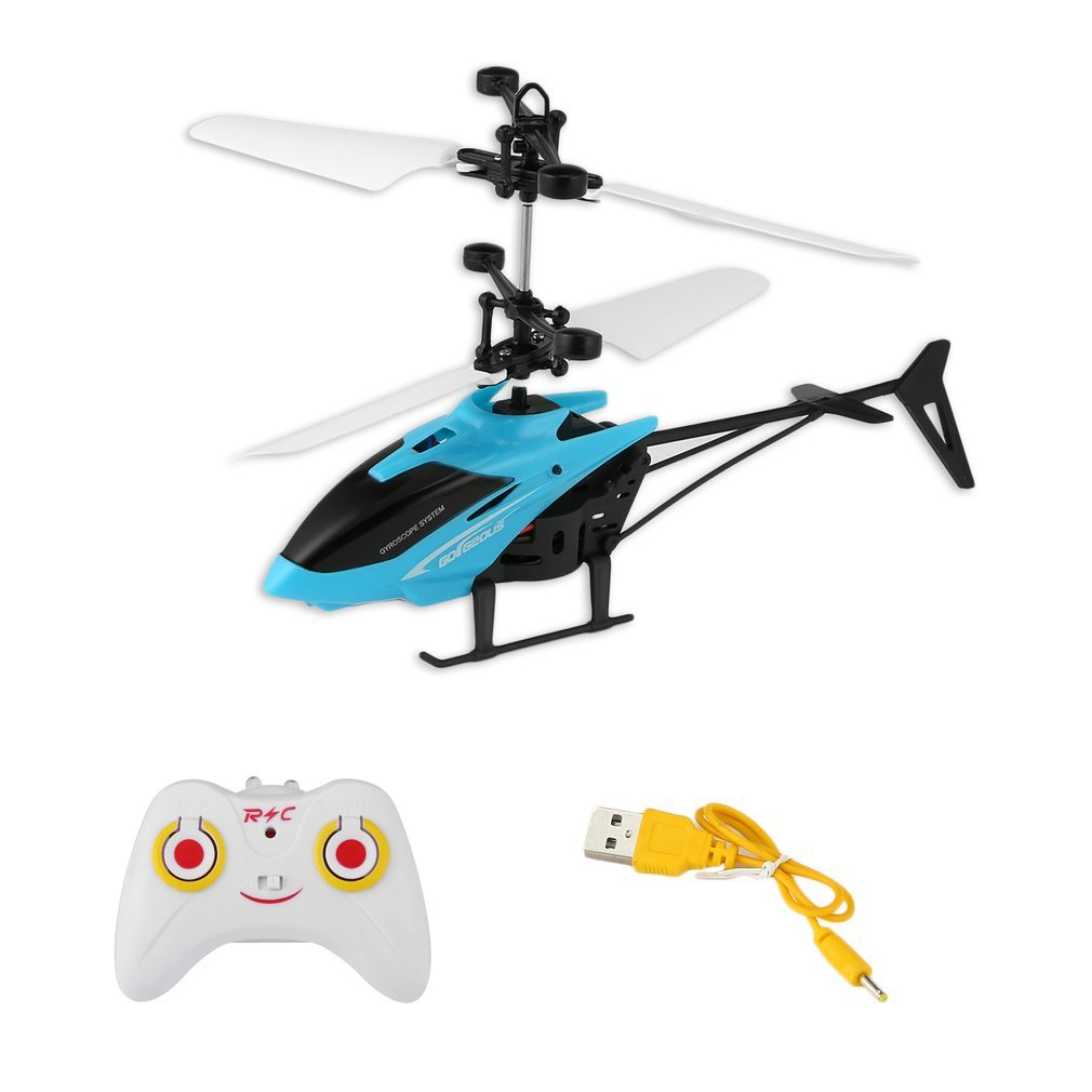 Infrared Induction RC Helicopter Aircraft Flying Toys with Remote Control Mini Dron LED Flash Light Float Toys For Kids Boys 14+