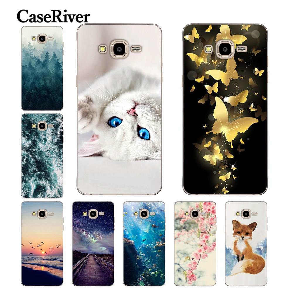 CaseRiver J2 Prime sFOR Samsung Galaxy J2 Prime Case Cover Soft TPU Printed Phone Back Protective sFOR Samsung J2 Prime Case