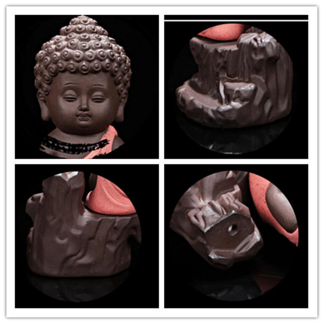 The Little Monk Censer Creative Home Decor Small Buddha Incense Holder