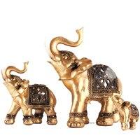 Hochzeitsgeschenke Handwerk Elefanten Dekoration Tier Harz ornamente dekoration zubehör Büro handwerk Kunstwerk dekoration