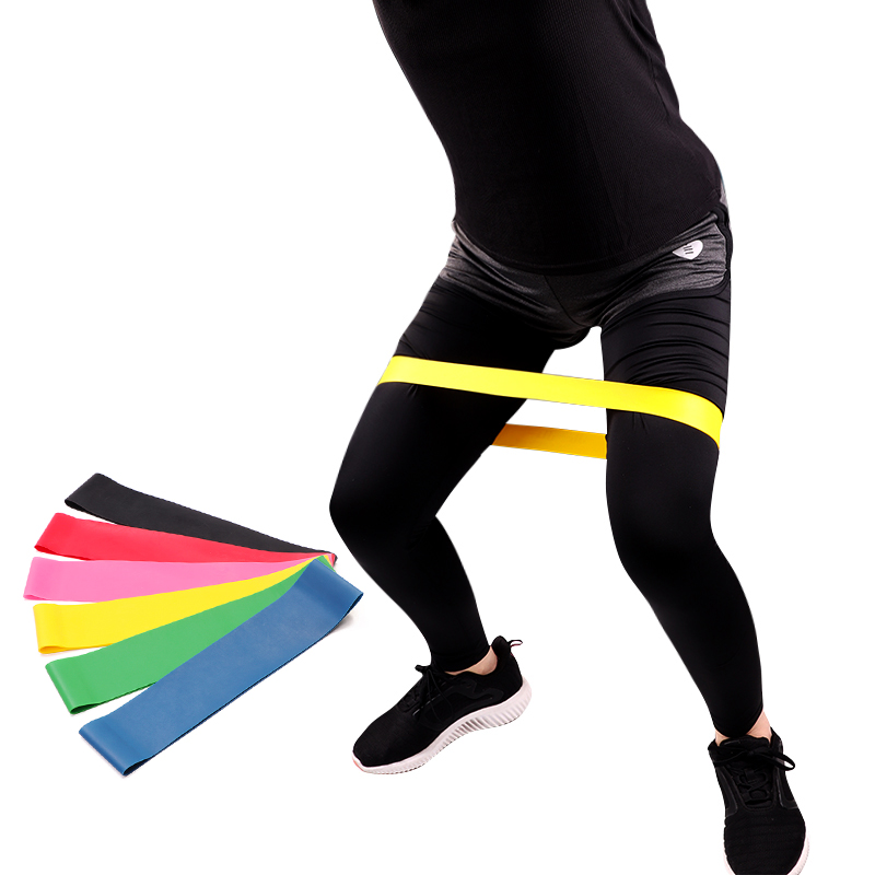 cycle zone Resistance Band Exercise Fitness Equipment Sports Rubber Ring Latex