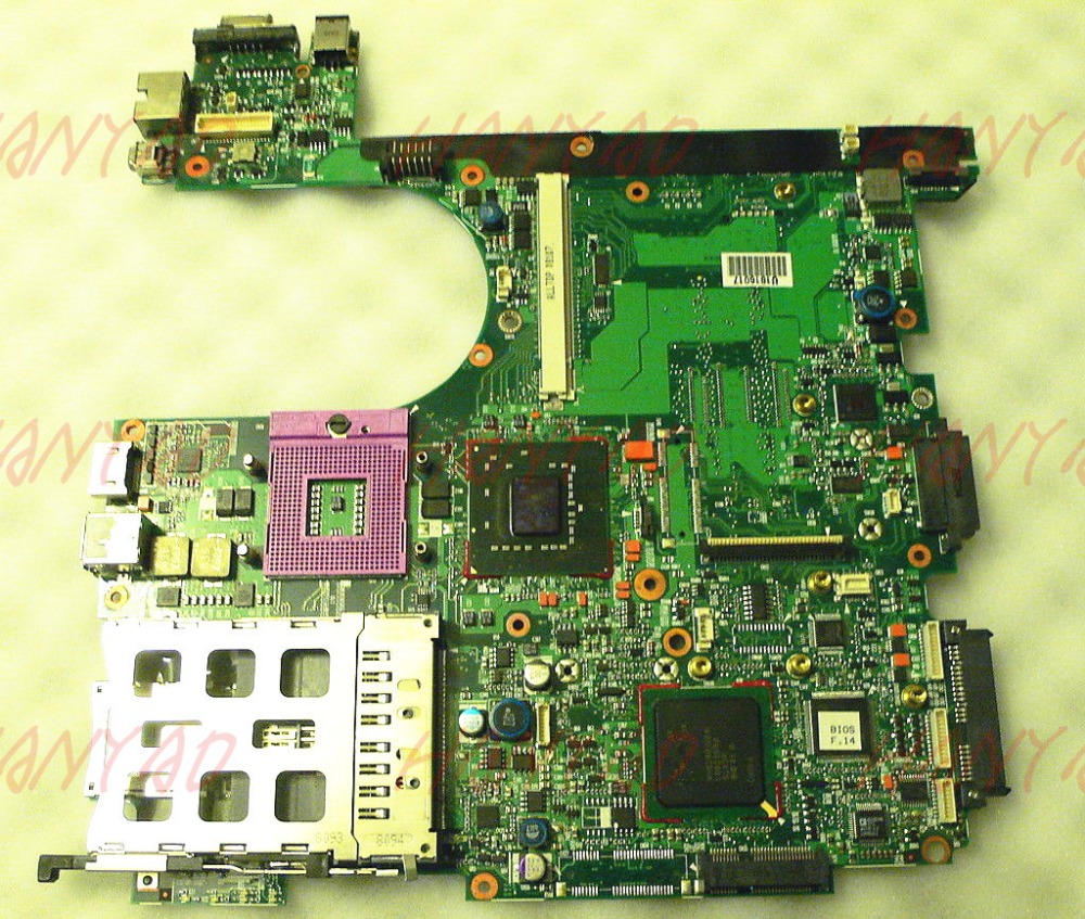 Para hp 8510 p 8510 w laptop motherboard 452218-001 6050a2096501-mb-a04 Frete Grátis motherboard 100% teste ok