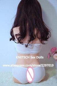 Image 5 - KNETSCH Top Qualität 82cm Echt Silikon Torso Sex Puppe Realistische Vagina Oral Anal Erwachsene Liebe Puppe Für Männer Masturbator sex Puppen