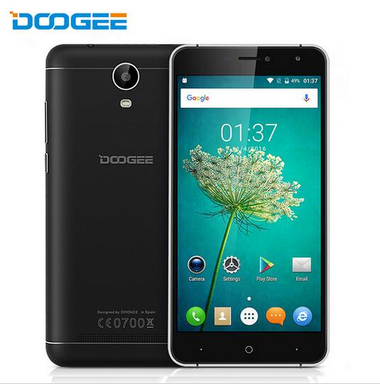 Original DOOGEE X7 pro Mobile Phone 6 0 inch Android 6 0 2GB RAM 16GB ROM