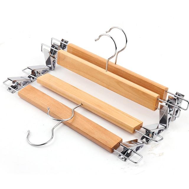 10 teile los holz hosen rack hosen clip haushalts hosen kleiderb gel holz hosen clip. Black Bedroom Furniture Sets. Home Design Ideas