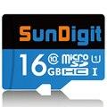 Марка Оригинал SunDigit карта micro sd 32 ГБ 16 ГБ Реальная Емкость SDHC Class10 UHS-I Высокое Качество 32 ГБ карты памяти 16 ГБ tf карты