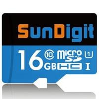 Brand Original SunDigit Micro Sd Card 32GB 16GB Real Capacity SDHC Class10 UHS I High Quality