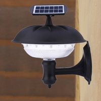 2017 New 2W 160LM 20 LEDs Solar Lamps Light Outdoor Lighting Patio Lights Pumpkin Solar Wall