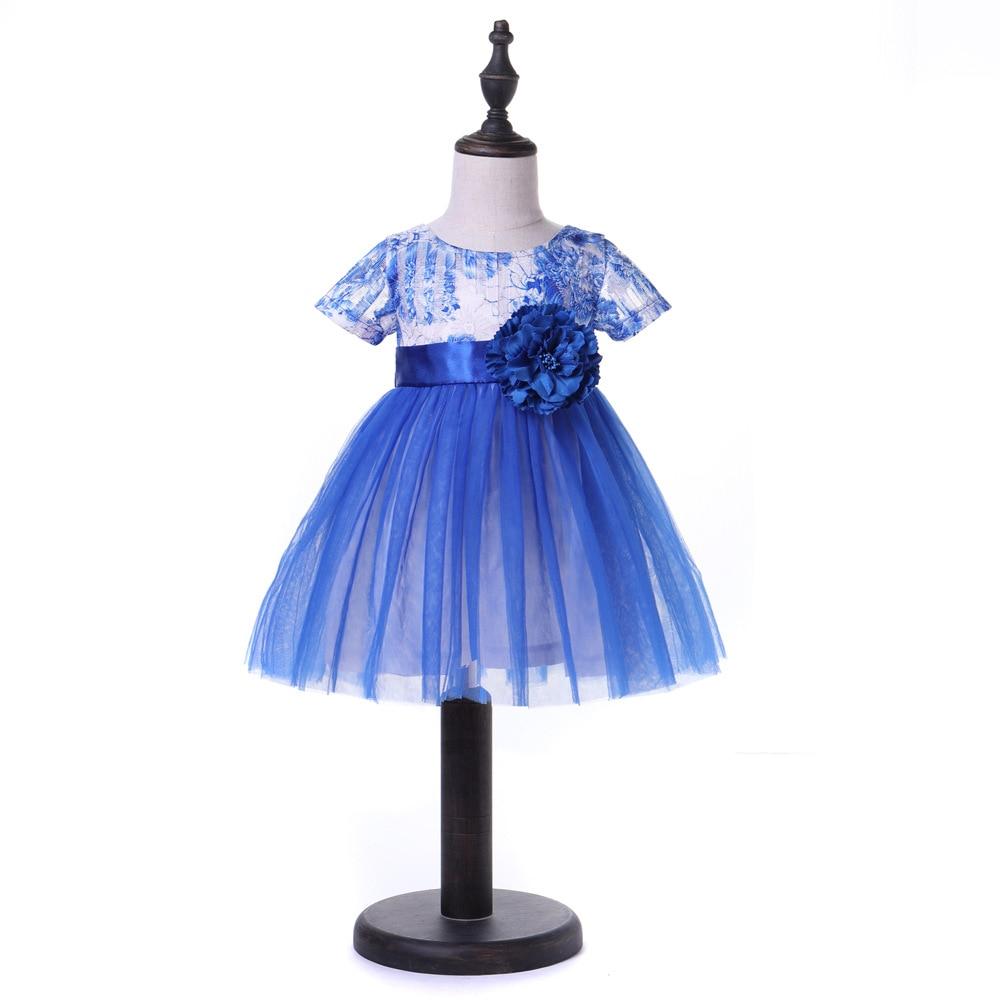 Sukienki dziecięce 2018 Nowa wiosna Jesień Dziewczynek ubrania - Odzież dla niemowląt - Zdjęcie 4