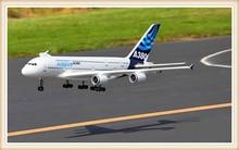 RC AirPlane Airbus A380 4CH 55cm EDF 2 4G Radio font b Control b font Plane