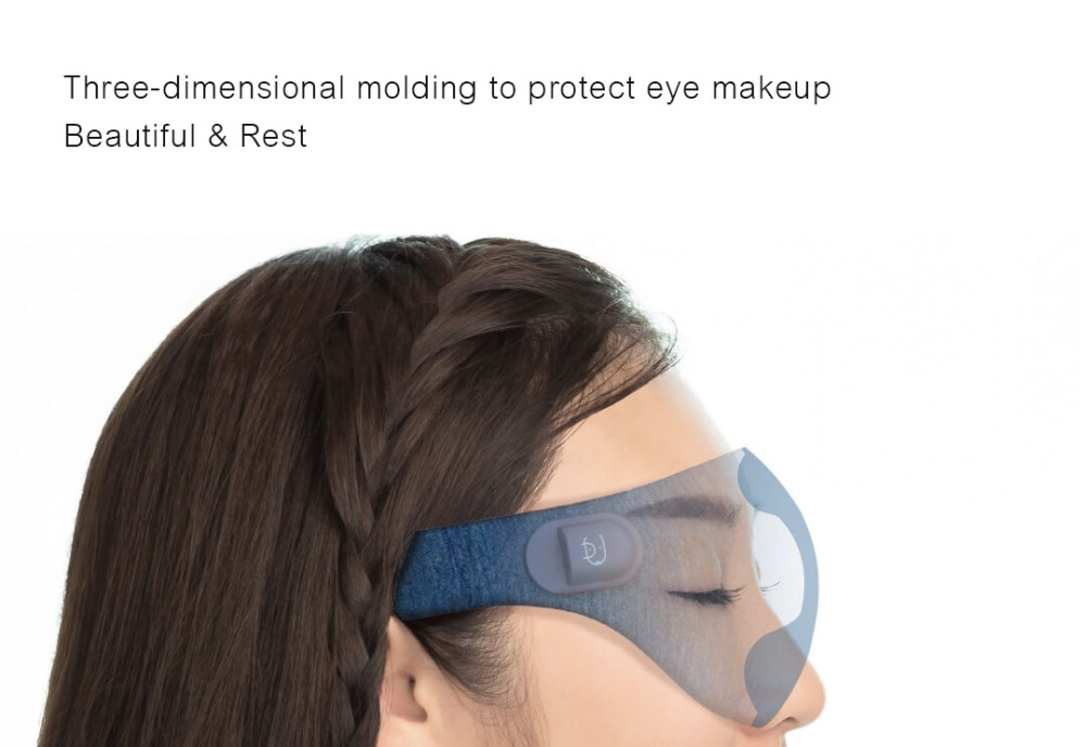 Xiaomi Mijia Ardor 3D Stereoscopic Hot Compress Eye Mask Surround Heating Relieve Fatigue USB Type-C Powered for Work Study Rest 1