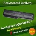 Jigu 4400 mah da bateria do portátil para fujitsu amilo v3205 si1520 pro 564e1gb squ-518 squ-522 6 células