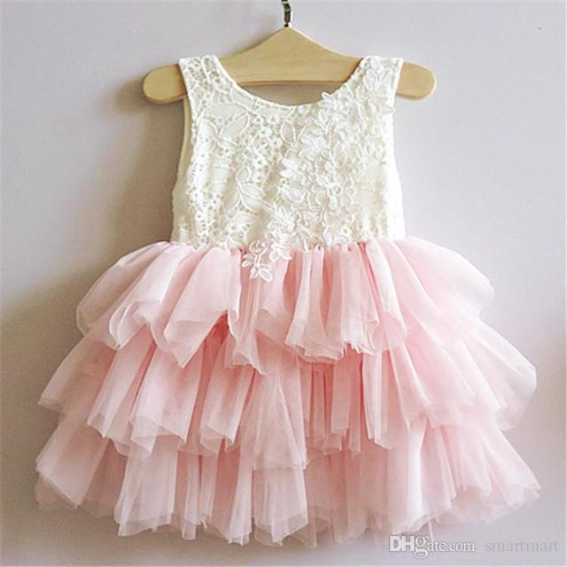 Christmas Kids Girls Tutu Bows Party Dress Ruffles Lace Embroidery Sequins Party Dress Holiday Fashion Dress