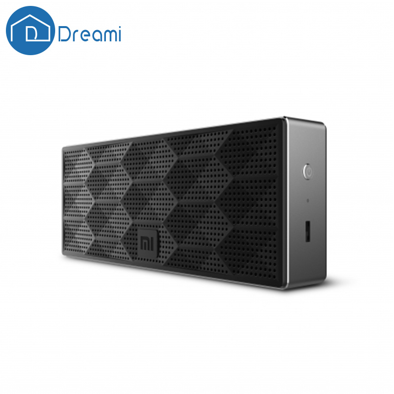 Dreami Russian Warehouse Original Xiaomi Mi Square Box Bluetooth Speaker For Phone PC Tablet Mini Portable Bluetooth 4.0Speakers