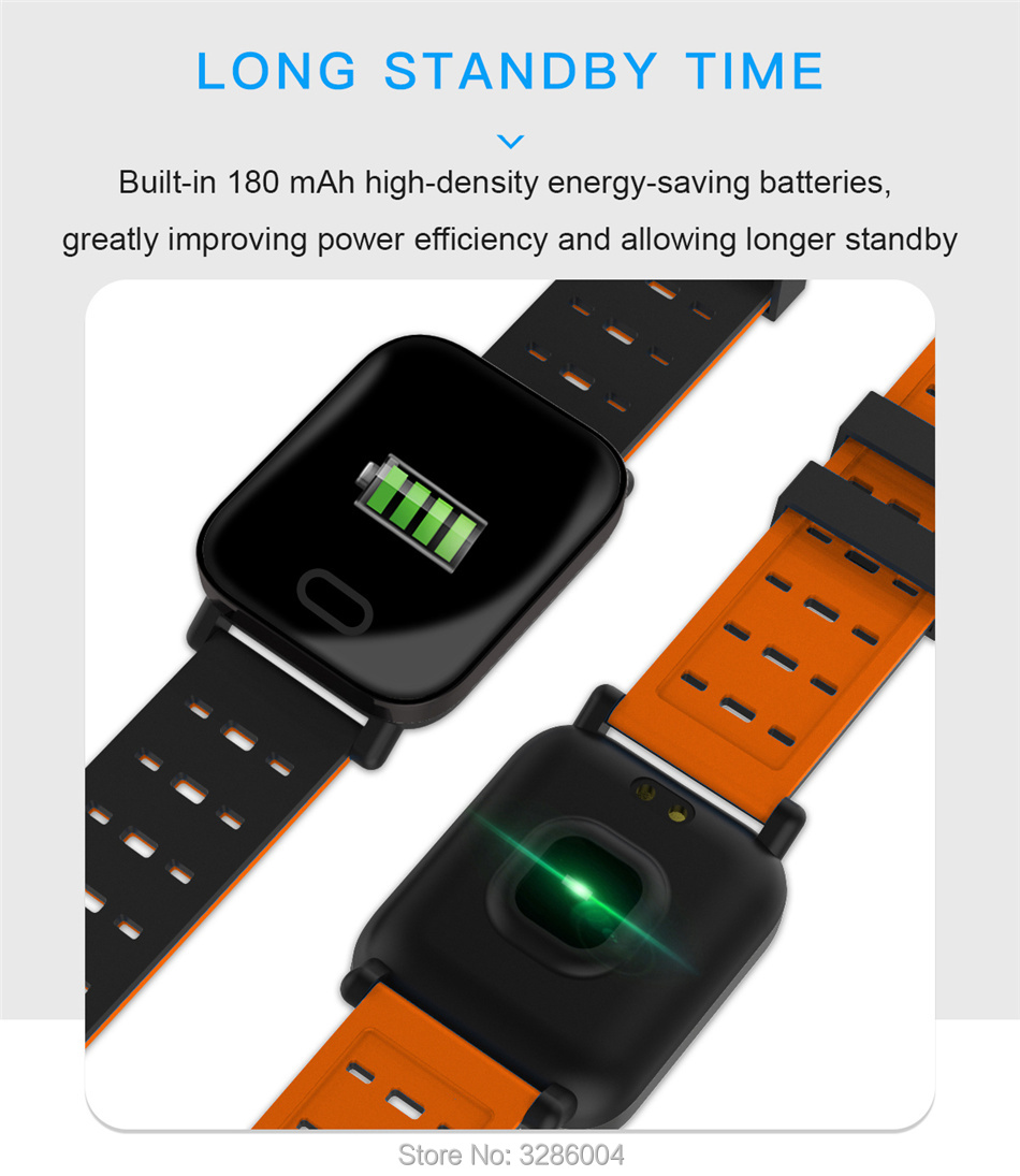 A6 Smart Bracelet Women Heart Rate Monitor Blood Pressure Fitness Band  Elastic Activity Tracker Smart watch for Android IOS