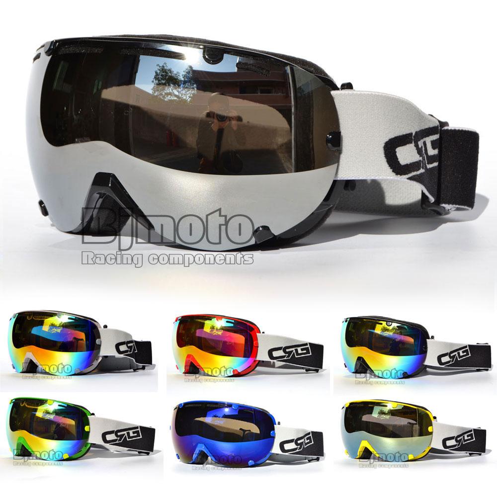 Óculos de Proteção Óculos de Motocross Duplo reflexivo Anti-fog Máscara de Esqui Capacete de Esqui Gafas Esporte MX Off Road para Motocicleta Da Bicicleta Da Sujeira