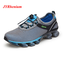 35-48 Big Size Breathable Mesh Men Running Shoes For Man Outdoor Sports Shoes Chaussure Sport Homme Women Sneakers Jogging Train 2016 famous brand mens running shoes for men sport outdoor trail running jogging shoes sneakers man chaussure sport