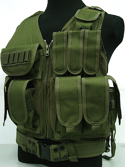 Military Tactical Combat Vest Army Gear Black MOLLE Carrier Airsoft Paintball War Game Tactical Hunting Vest mil spec military lt6094 coyote brown cb combat molle tactical vest army military combat vests lbt6094 style gear vest carrier