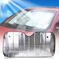 DWCX araba katlanabilir gümüş güneş gölge siperliği arka ön cam yansıtıcı ısı kapak BMW VW Audi Toyota Chevrolet