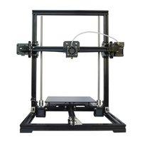 Tronxy Aluminium Profile Extrusion 3D Printer Kit 3D Printing LCD Screen Plastic Wheel Automatic Leveling X3A EU Plug|3D Printers| |  -
