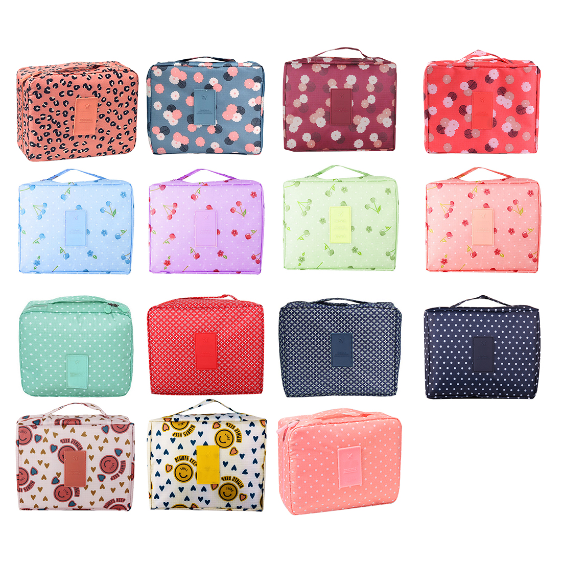 Travel Portable Storage Bag Waterproof Oxford Cloth Underwear Finishing Kit Suitcases Cosmetic Organizer Makeup Bags