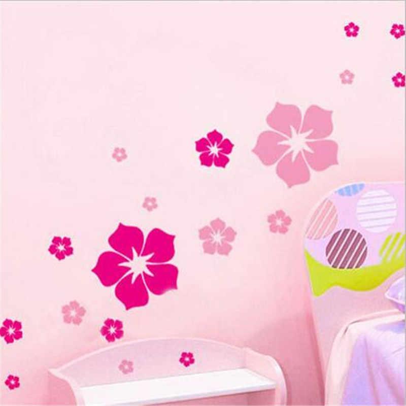 Anh Đào lãng mạn Dán Tường Hoa 22*50 cm DIY Làm Trang Trí Nhiều màu Hoa Nhỏ Miếng Dán Bếp vincy Nhà Bức Tranh Tường
