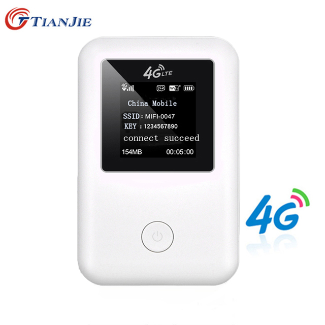 US $36 98 40% OFF|4G LTE Wifi Router 150Mbps Mobile Wireless Hotspot Car  Mifi Unlock Modem Broadband Dongle 3G 4G Wi Fi Router With Sim Card Slot-in