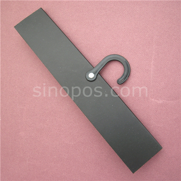Rug Header Hanger Common Blank Fabric Swatch Card Plastic