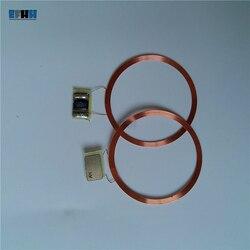 13.56 Mhz MF S50 1 K Tag NFC UID Mutável Bobina + Chip de Cópia Clone Sem Tampa de PVC Cartão Em Branco UID Regravável Cartão Mágico Chinês