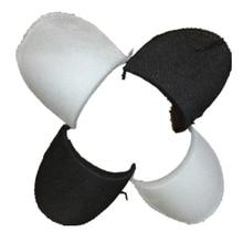20 пар губчатая ткань Наплечная подкладка мягкая Наплечная белая черная для блейзера футболка ветровка одежда аксессуары для шитья