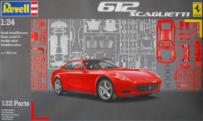 Out of print! Revell 1/24 612 Scaglietti # 07198 - Plastic Model Kit revell model 1 25 scale 85 7457 69 camaro z 28 rs plastic model kit