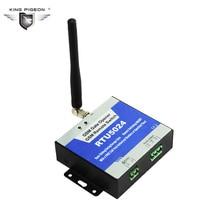 Portão GSM Abridor de Abridor de Porta de Controle de Acesso Sem Fio Interruptor do Relé Remoto Por Chamada Gratuita Rei Pombo RTU5024
