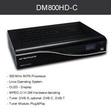 Dm800 HD PVR receptor de Cable PVR dvb-c Cable REV M BL84 PVR receptor Digital satélite SIM2.01 Newdvb 800hd Pro shippng libre