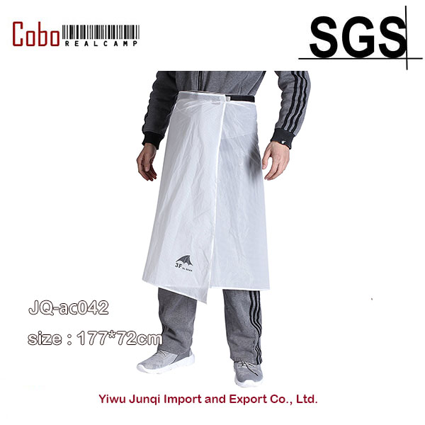 Rainwear Mens Waterproof Rain Pants Windblock Pant Liner Breathable Riding Cycling Camping Hiking Skirt Kilt