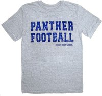Men T Shirts Men Free Shipping Friday Night Lights Panther Football Heather Gray Adult T Shirt