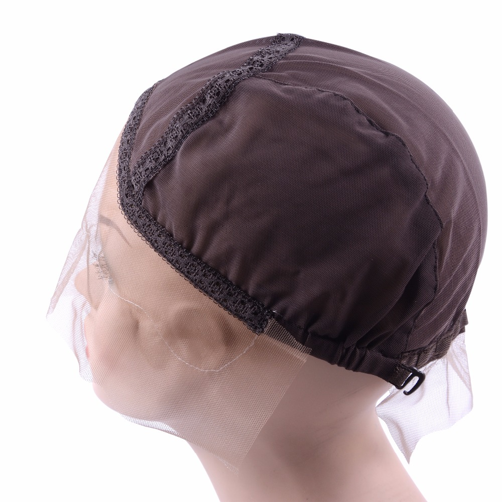 Hairnets Tools & Accessories Beautiful Black/dark Brown/brown/light Brown/beige Lace Front Wig Cap For Making Wig With Adjustable Strap Guide Line Glueless Weaving Cap