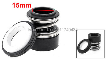 MB2-15 15mm Inner Diameter Single Coil Spring Bellows Mechanical Seal 5pcs image
