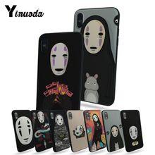 Yinuoda Унесенные призраками не лицо человек персонализированный Чехол для телефона для Apple iphone 7 7plus X 8 8plus 6s 6 6plus 5 5S 5c