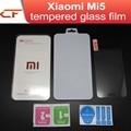 Original Xiaomi Mi5 Tempered Glass Screen Protector Film For 5.15inch Xiaomi M5 mi 5 Mobile Phone