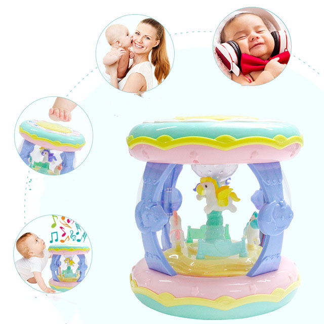 Toys Baby Exquisite New Instrument Educational Enlightenment Musical TALE CARP Children Cute Double-sided 1