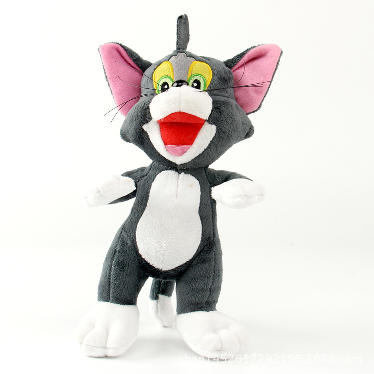 hot pp cotton plush toy animal stuffed plush doll Cat and Mouse Tom and Jerry Plush Toy Figurine kids toy for children gift